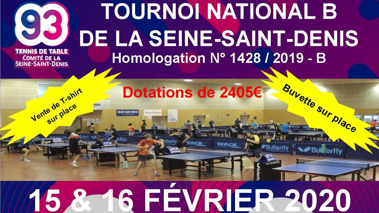 Tournoi National B du Comité 93