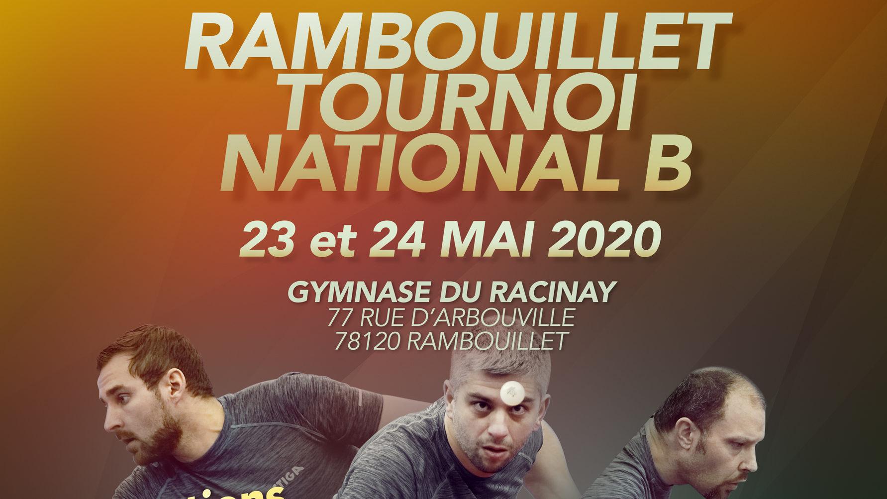 Tournoi National B de Rambouillet
